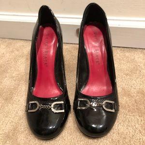 White House Black Market Heels 9 patent
